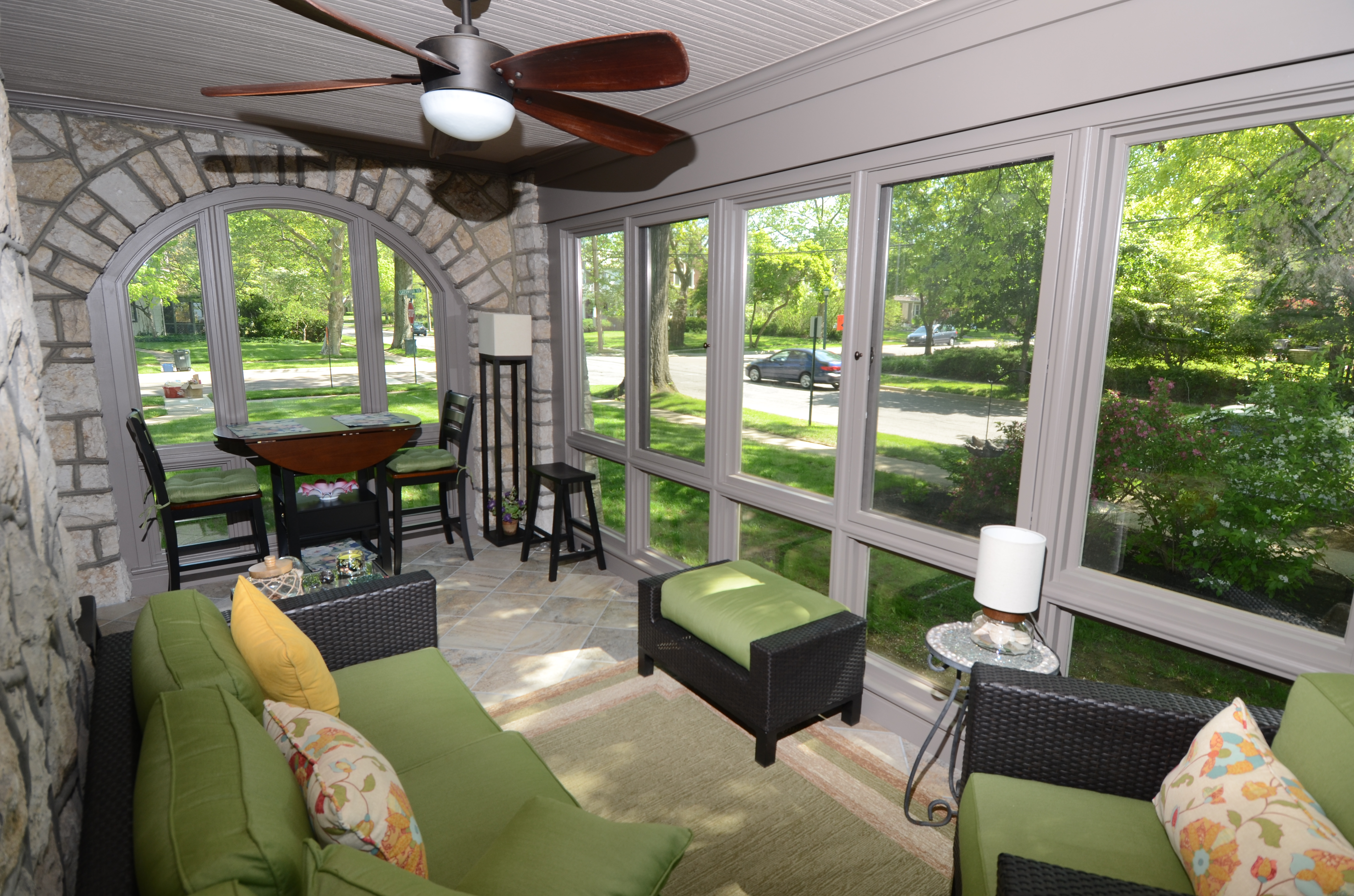 Changing A Screened In Porch Into A Room Addition NJW