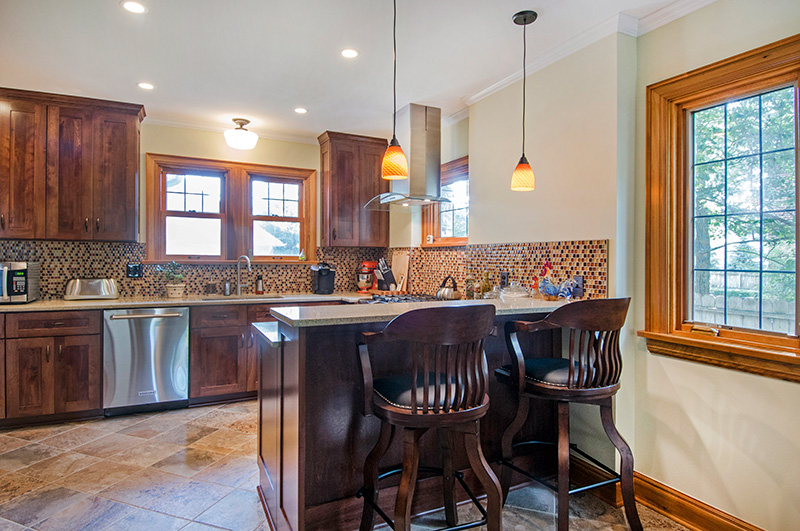 Bexley Eat-in Kitchen Remodel - NJW Construction